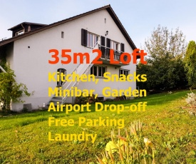Zurich Airport Rentals in a quiet area of villas